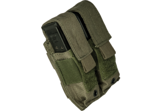 Base Pouch Pistol Covered Double Mag