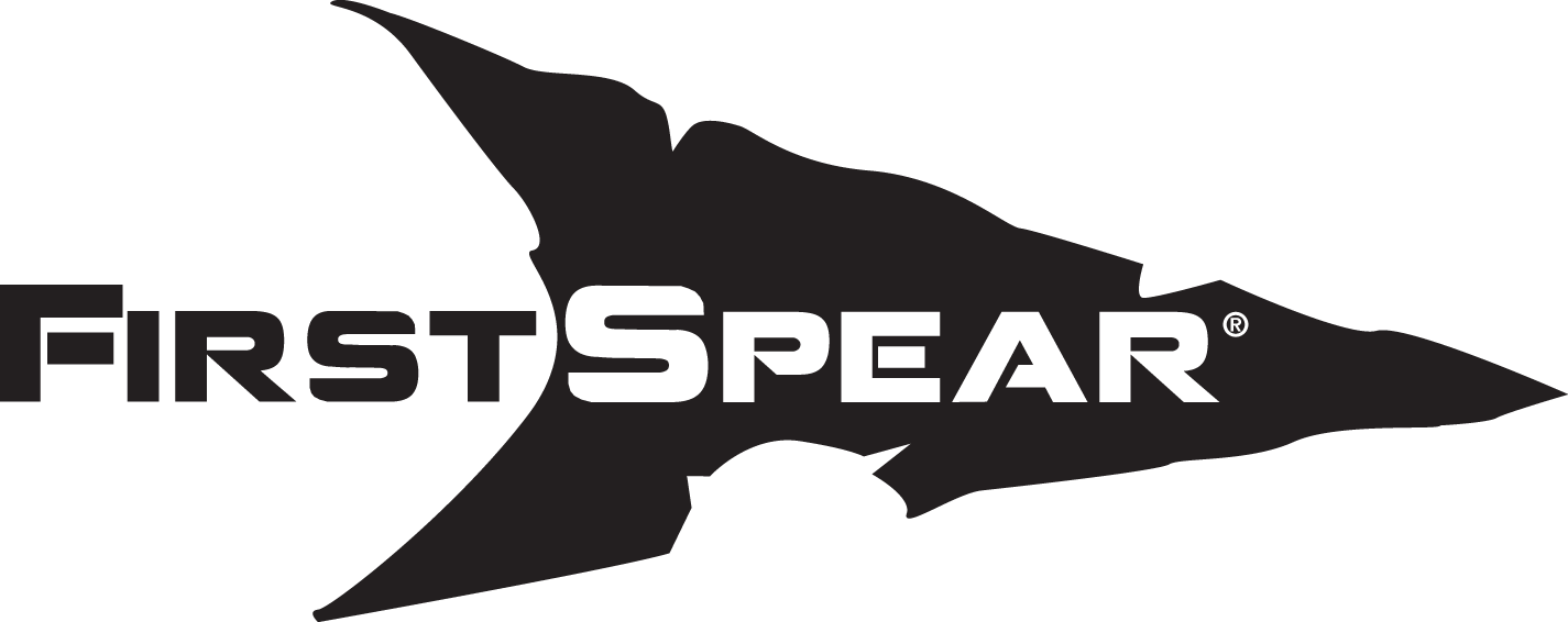 First Spear Logo Black