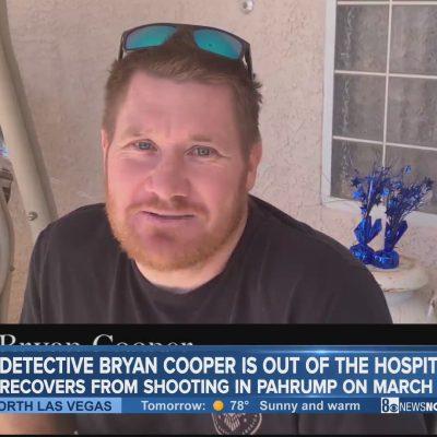Detective Cooper Head Shot
